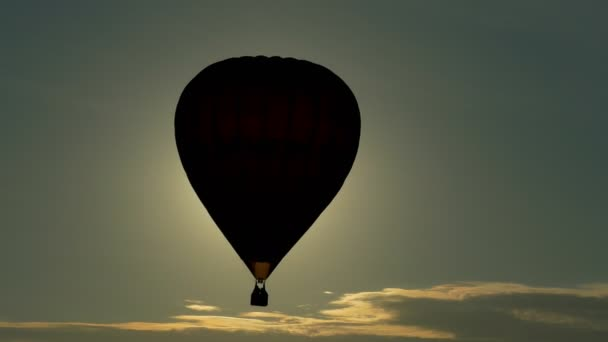 depositphotos 79257106 stock video the balloon silhouette in the