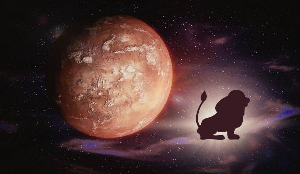 Mars aslan burcuna geciyor
